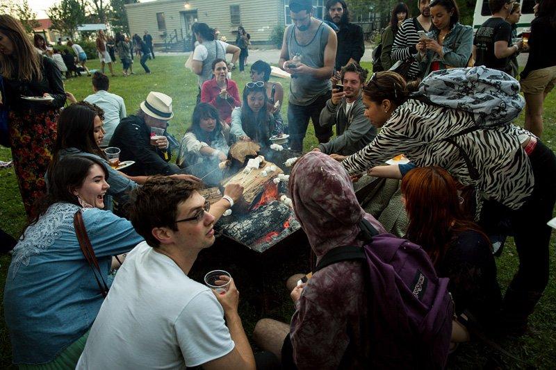 Jansport Bonfire Sessions   Toronto