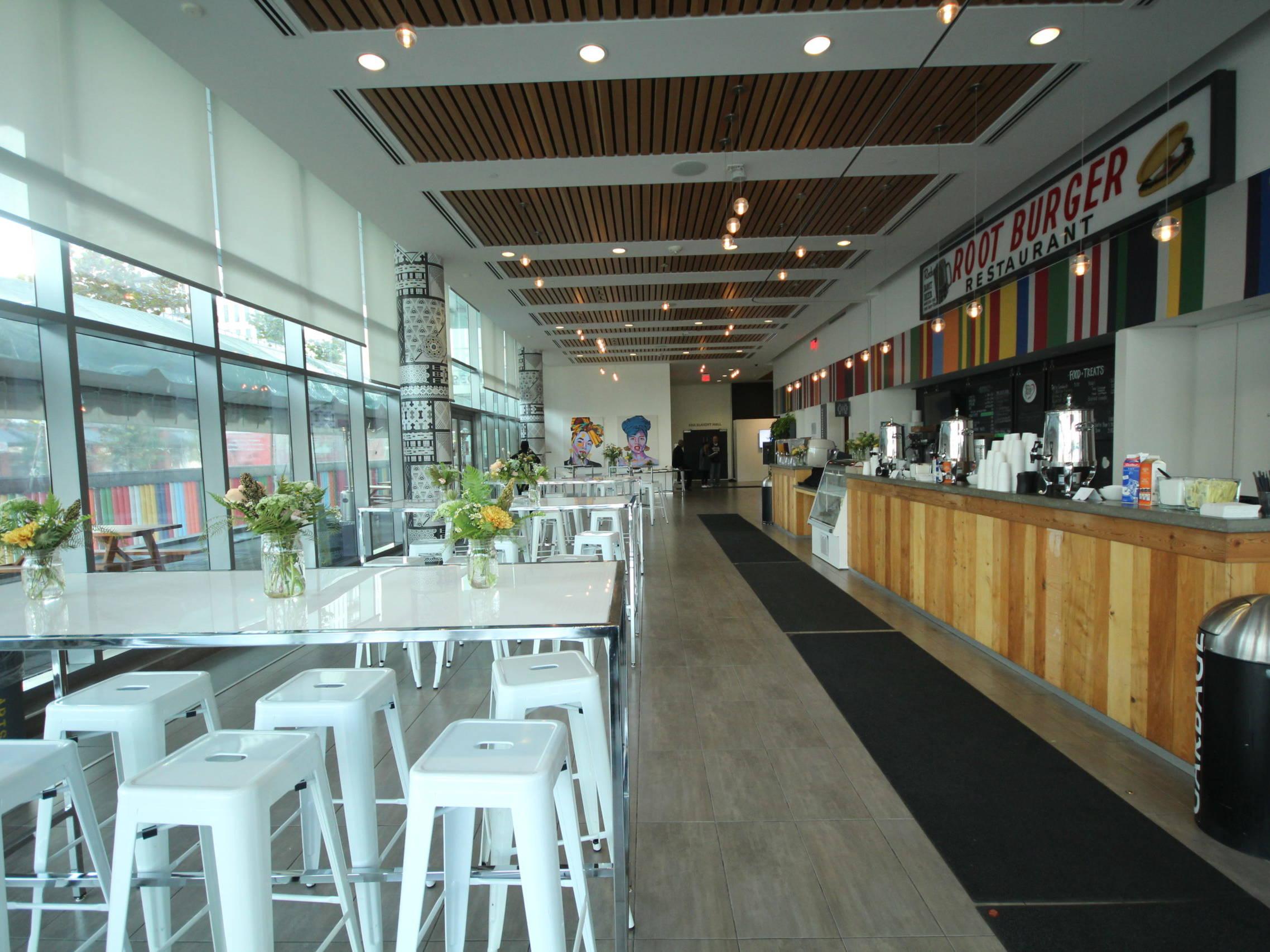 Artscape Lounge, empty, Daniels Spectrum