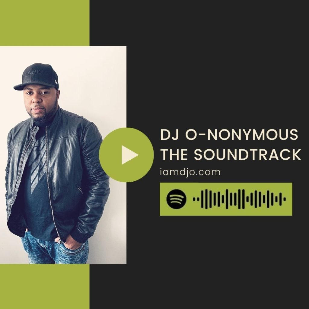 DJ O-nonymous An Artscape Venues Playlist